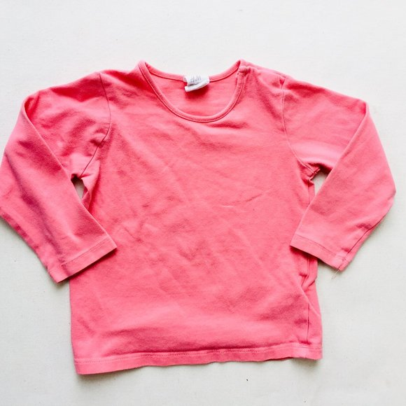 H&M Coral Pink Long Sleeve T